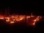 Listopadowa noc na cmentarzu